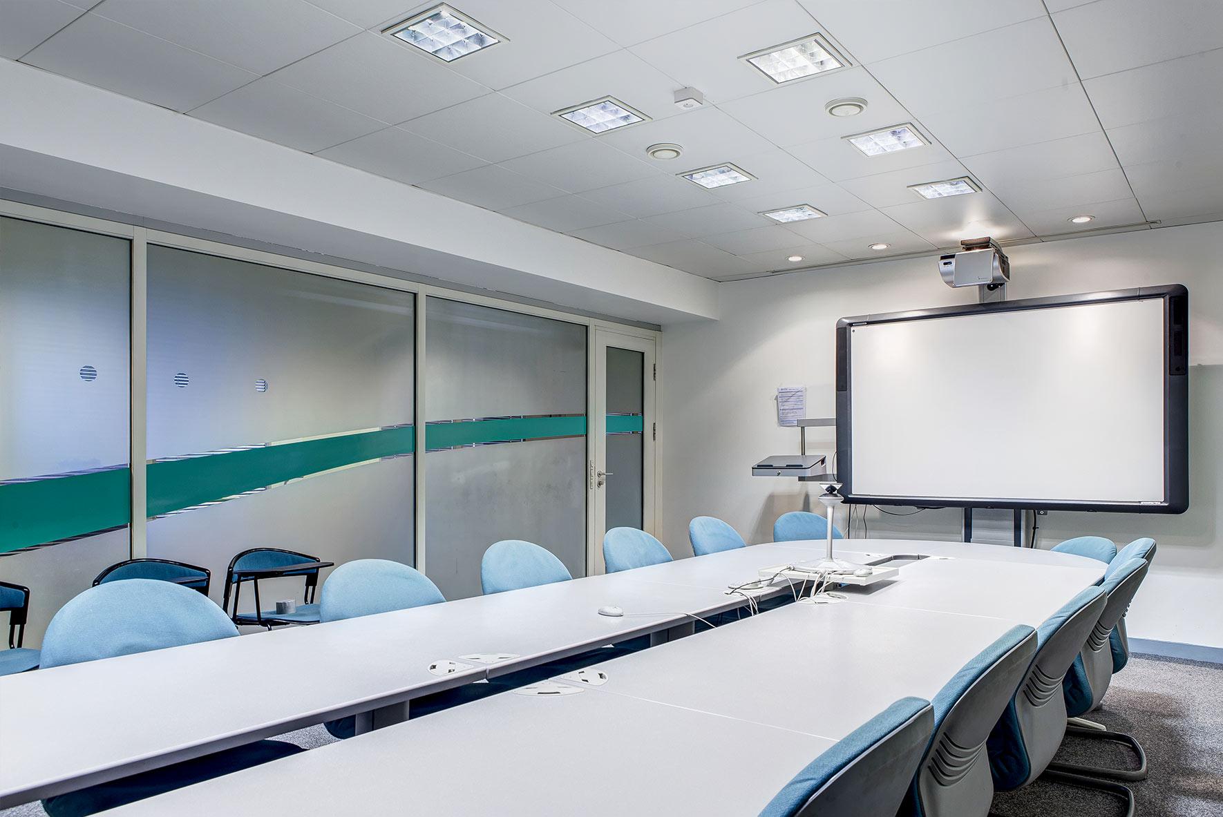 salle interactive pour réunions techniques